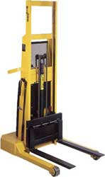 Manual Push with Electric Lift Industrial Pallet Stackers